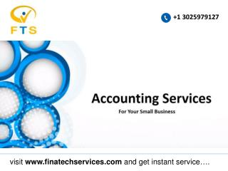 accounting services for small business