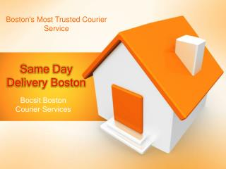 Courier service Boston