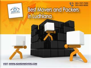 Hassle-Free Relocation with Best Movers and Packers in Ludhiana