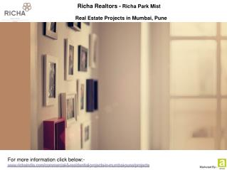 Richa Realtors - Homes in Mumbai, Pune
