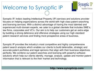 Patent Search Outsourcing India