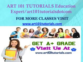 ART 101 TUTORIALS Education Expert/art101tutorialsdotcom