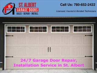 Latest Trendy Garage Door Repair Service - St. Albert