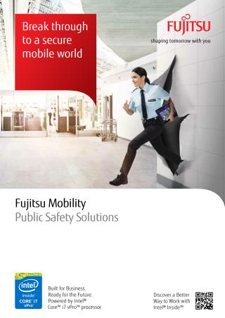 Mobile Computing Systems & Solutions for Public Safety Agencies from Fujitsu
