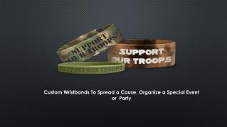 Design Custom Wristbands Online