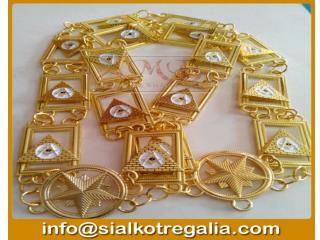 Masonic regalia chain collar Shrine