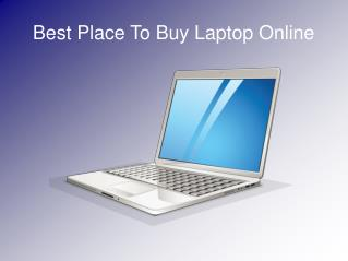 Best Place To Buy Laptop Online