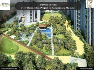 Runwal Forests - 2,3 Bedroom Apartments In Kanjurmarg Mumbai