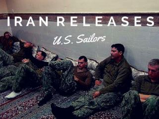 Iran releases U.S. sailors