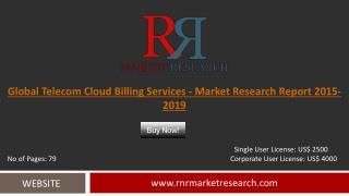 Telecom Cloud Billing Services Market Trends and Drivers in 2019 Report