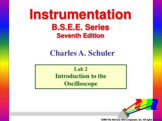 Instrumentation  B.S.E.E. Series Seventh Edition