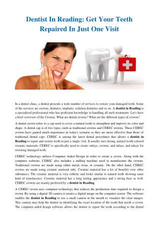 Dentist in reading - affordable dental solutions