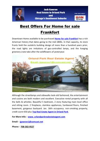 Best Offers For Home for sale Frankfort