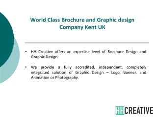 Brochure Design and Graphic Design Company kent