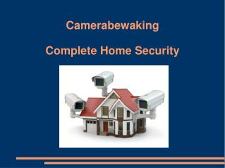 Camerabewaking – Complete Home Security