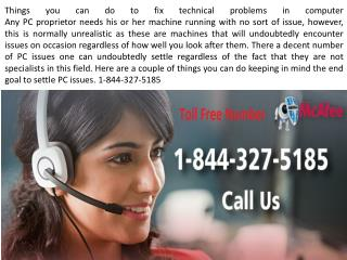Mcafee Tech Support Number 1-844-327-5185