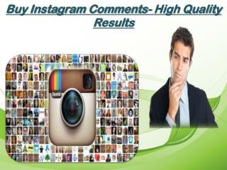 Buy IG Comments Improve Your Search Rank
