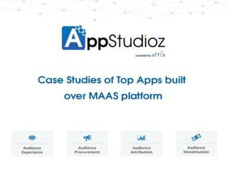 Top Apps Built Over Maas Platform