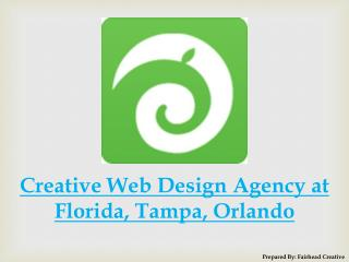 Creative Web Design Agency at Florida, Tampa, Orlando
