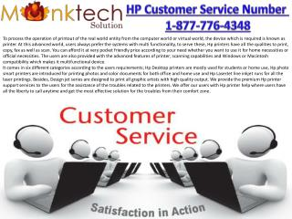 Toll free for HP Customer Service Number 1-877-776-4348