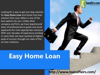 Easy Home Loan