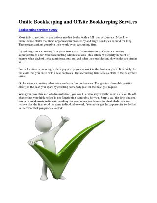 Bookkeeping Surrey Payroll Solutions
