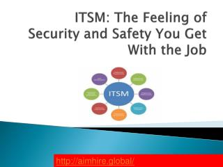 ITSM: The Feeling of Security and Safety You Get With the Job
