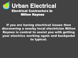 Electrical Contractors: The Urban Electrical