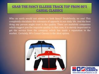 Grab the Fancy Ellesse Track Top from 80's Casual Classics