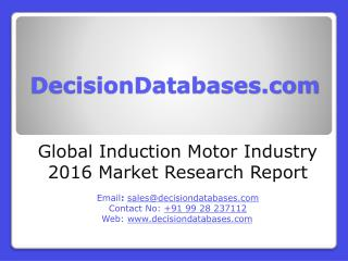 Induction Motor Market Analysis and Forecasts 2020