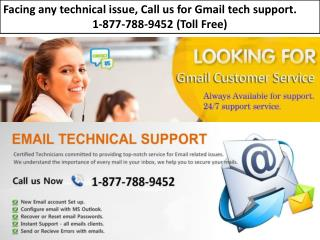 Find Assistance For Gmail, Call 1-877-788-9452 Gmail Password Recovery Help Number