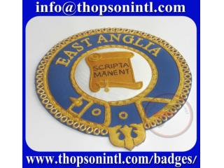 Masonic Knight Templar mantle badges