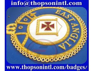 Masonic KT Mantle Badges