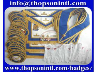 Masonic Craft provincial full dress apron set