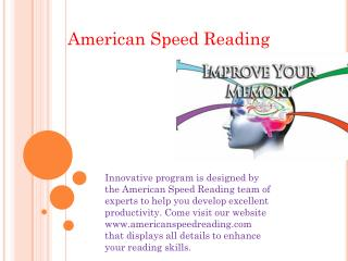American Speed Reading