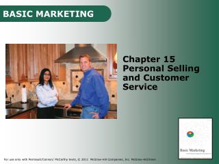 Chapter 15 Personal Selling and Customer Service