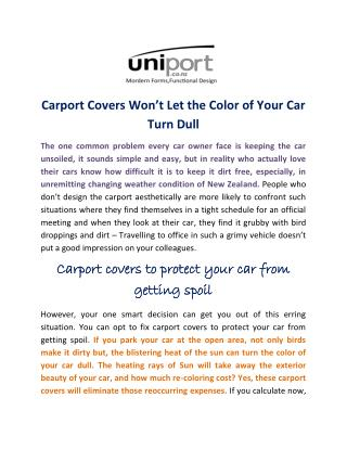 Best Carports in NZ, Carport Service in New   Zealand