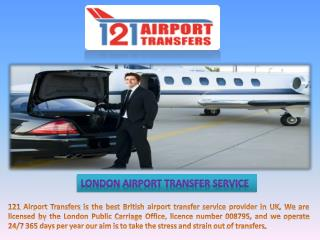 Choose Your London Airport Transfer Service