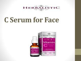 C Serum for Face