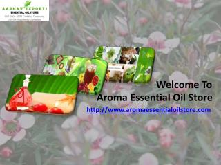 Bulk natural essential oils at aromaessentialoilstore.com
