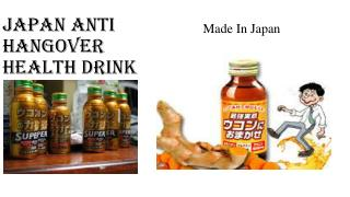 Japan Anti Hangover Health Drink