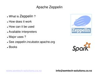 An introduction to zeppelin