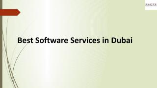 Best Software Services in Dubai