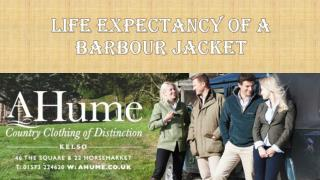 Life Expectancy of a BarbourJacket