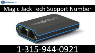 1-315-944-0921 Magicjack Support Number