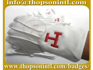 Royal Arch Masonic Cotton Gloves