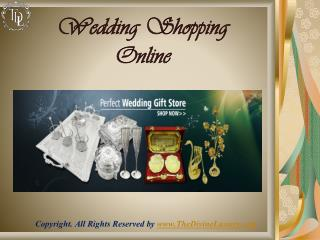 Wedding Present Ideas