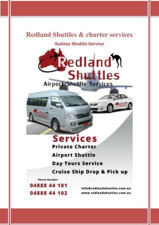 Airport Shuttle & Transfer Service Blacktown - Redland Shuttle & Charter Service Sydney