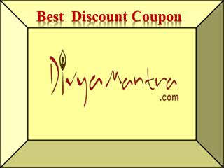 Divyamantra Discount Coupon