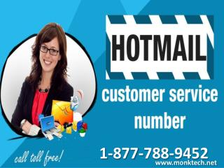Call Hotmail customer service 1-877-788-9452 tollfree number for Hotmail problems